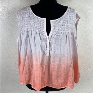[ FREE PEOPLE ] Ombré Sleeveless Top